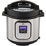 Multi-pot 10-in-1 Programmable Instant Pressure Cooker 6 Quarts with Stainless Steel Pot, Free Recipe Book Included. 1000 Watt Pressure, Slow Cook, Sauté, Rice Cooker, Steamer & Warmer by SilverOnyx Review