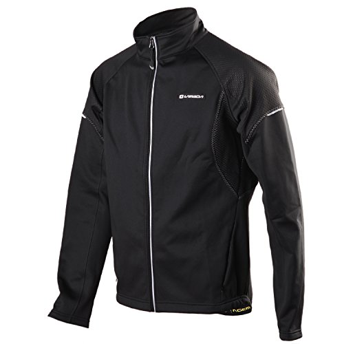 4ucycling Windproof Full Zip Wind Jacket 3-layers Composite Stretchy Fabric