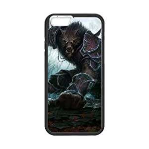 iphone6 plus 5.5 inch Black phone case Video Games World Of Warcraft VGS1736441