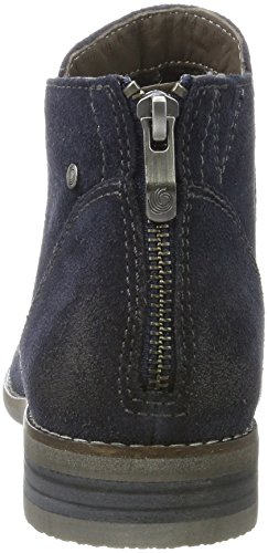 Be Natural Damen 25422 Chelsea Boots Blau (Navy)
