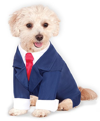 Business Suit for Pet, Medium by Rubie's