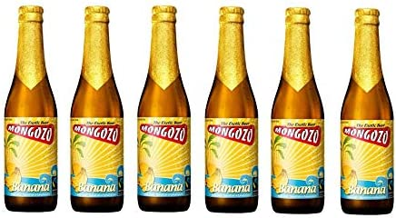 Mongozo Plátano (6 botellas de 33 cl) (cerveza belga artesana)