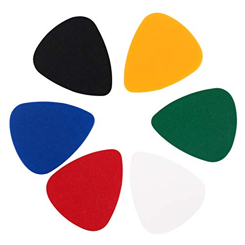 CAIDUD Convenient Guitar Pick Music Picks Exercises Accessories Gifts Celluloid Durable