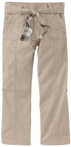 Eddie Bauer Girls' Twill Pant (More Styles Available), True Khaki, ()