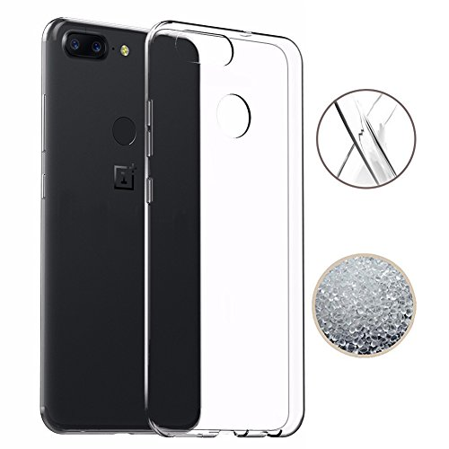 OnePlus 5T Case, TopACE Ultra Thin Transparent Soft Gel TPU Silicone Case Cover for OnePlus 5T (Clear)