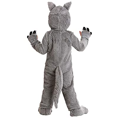Grey Wolf Costume Toddler: Clothing
