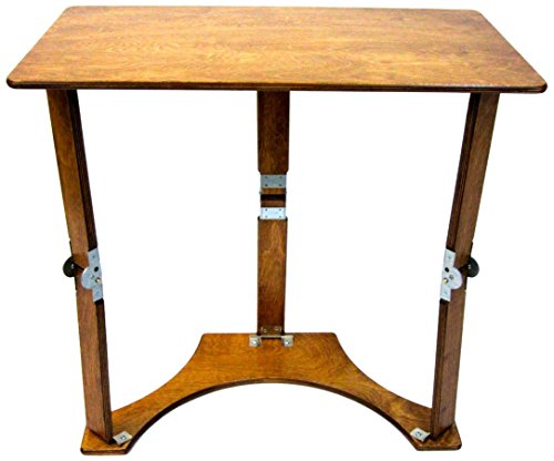 Spiderlegs Folding Laptop Desk Tray Table, 27-Inch, Warm Oak