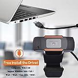 ZJFKSDYX HD Webcam, 1280 X 720P High