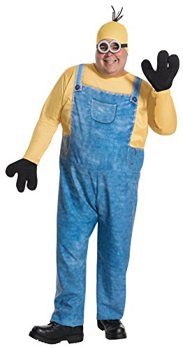 Rubie's Costume Co Men's Minion Kevin Plus Size Costume, Multi, One Size (Minions Movie: Minion Kevin Adult Costume)