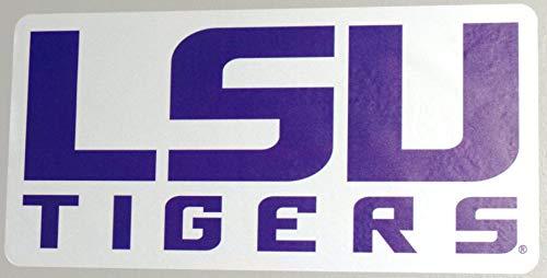 LSU Tigers FATHEAD Team Logo Sign Official NCAA Vinyl Wall Graphic 20