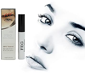 23bd0599c74 Buy Generic White : FEG Eyebrow Enhancer Growth Treatments Pumps &  Enlargers by Eyes Makeup Eyebrow Enhancers Liquid Cosmetic Eye Brow Longer  Online at Low ...