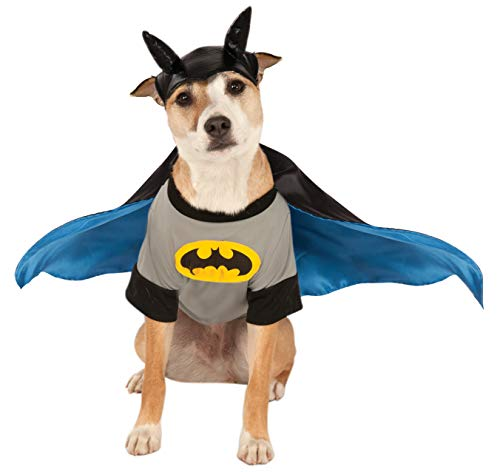 DC Comics Pet Costume, Small, Batman