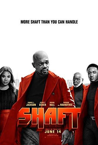 SHAFT (2019) Original Authentic Movie Poster 27x40 - Double - Sided - Samuel L Jackson - Jessie T Usher - Regina Hall - Ricard Roundtree (Ricard Poster)