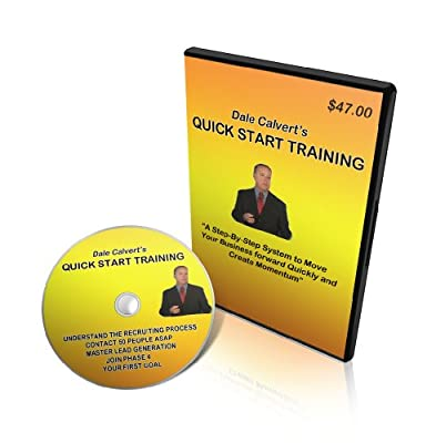 Dale Calvert Quick Start Network Marketing DVD Set