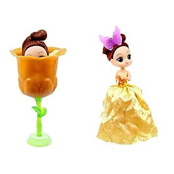 lively moments Muñeca como Flores Surprise con Palos / Princesa Nikki en Naranja