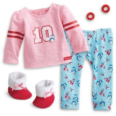 American Girl - Holiday Penguin PJs for 18-inch Dolls - Truly Me 2016