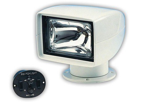 Jabsco 60080 Series Marine 146SL Remote Control Marine Halogen Searchlight, 175000 CP, Joystick Control review
