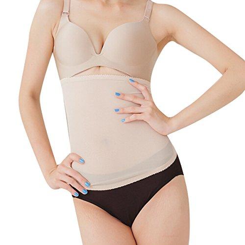Zcargel New Arrival Super Thin Breathable Waist Trimmer Slimming Shaper Abdominal Training Cincher Belt