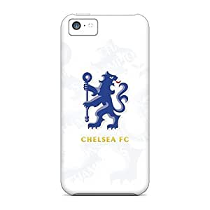 Awesome Chelsea Fc Flip Case With Fashion Design For Iphone 5c