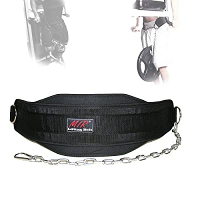 MiR Weighted Vest Lifting Dip Belt with Chain