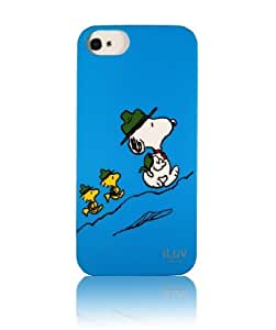 iLuv Peanuts Gang Series Case for iPhone 5/5S - Scout Snoopy & Woodstock