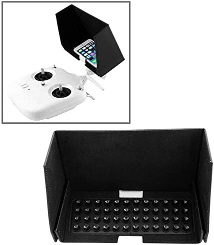 Wyanlin Wyanlin Remote Control Sun Shading Visor Cover for DJI Phantom 2 Vision//Phantom 2 Vision+ Black Phantom FC40