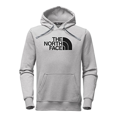 The North Face Men's Half Dome Hoodie - Medium Grey Heather/Black - L by The North Face