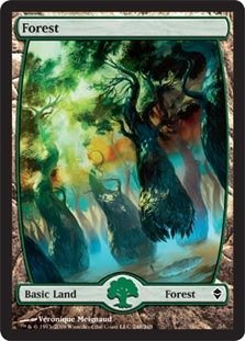Magic: the Gathering - Forest (248) - Zendikar - Foil by Magic: the Gathering