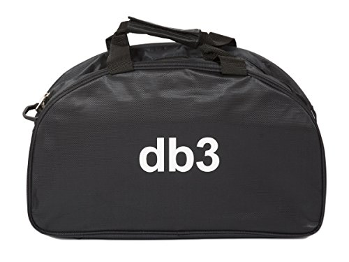 db3 Boutiques Unisex Sports Holdall Bag, Black