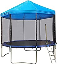 Trampoline Canopy Trampoline Sunshade Sunshade Trampoline Canopy Cover Awning Frameless Shade Rain and Snow Ou