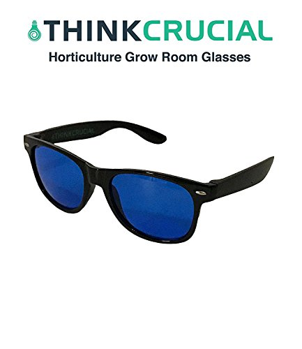 Horticulture Indoor Hydroponics Grow Room & Greenhouse Light Glasses (Goggles), Anti UV, Ultra-Violet, HPS, MH Lights Reflection & Glare Optical Protection, by Think (Glass Mh Grow Light)