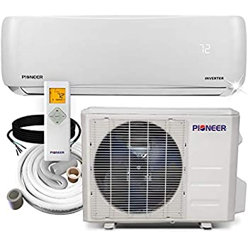 Amazon com: Pioneer Ceiling Cassette Split Ductless Inverter+ Heat