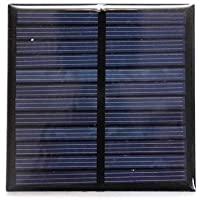Electronicspices Solar for DIY Square Shape Mini Solar Panel 6V-100 mAh (70 x 70 x 03 mm)