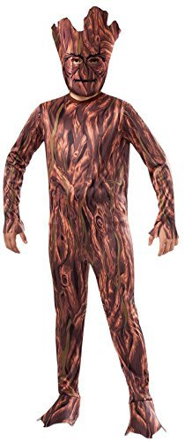 Rubie's Costume Guardians of the Galaxy Groot Child's Costume, One Color, Large (Nobbies Halloween Costumes)