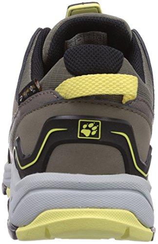 Jack WolfskinCROSSWIND TEXAPORE O2+ LOW W - zapatillas de trekking y senderismo de media caña Mujer Beige - Beige (lemonade 3073)