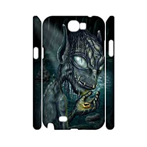 Custom Reinvention Case for Samsung Galaxy Note 2 N7100 with Gollum yxuan_4188081 at xuanz