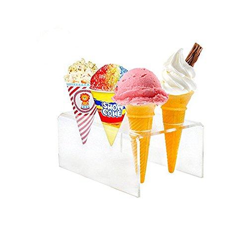 ice cream cone cupcake stand - 8