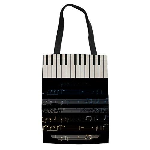 reutilizable Music Bolso para lino Showudesigns la compra de 1 de Music mujer 14 wRxqxn6a