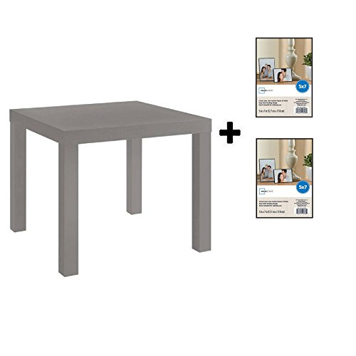 0ca3214270 Mainstays Parsons Side End Table, Multiple Colors (Black with Format ...
