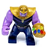 LEGO Thanos Minifigure with Gauntlet and 6 Infinity Stones from Infinity War