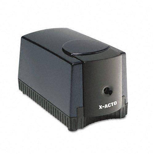 x-acto-products-x-acto-deluxe-heavy-duty-desktop-electric-pencil-sharpener-black-gray-sold-as-1-each