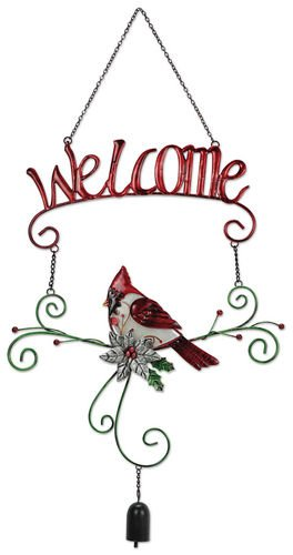 Sunset Vista Designs Cardinal Welcome Sign ()
