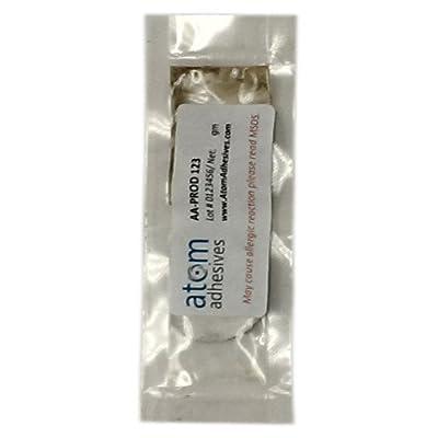 High Temp Epoxy Fast Cure Adhesive, Low Visc, 2 Part, Fiber Optic Connectors, AA-BOND F123, 5gm