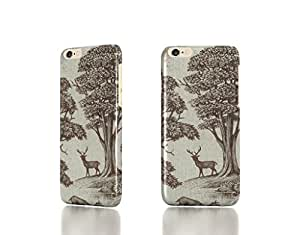 Deer Park Vintage Reindeer Holiday Christmas Case For Sam Sung Galaxy S5 Mini Cover Back Case Cover