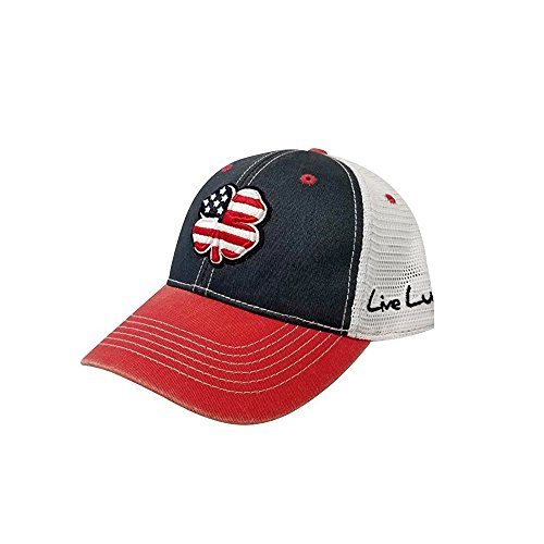 Black Clover Live Lucky USA 2T Vintage Adjustable Hat