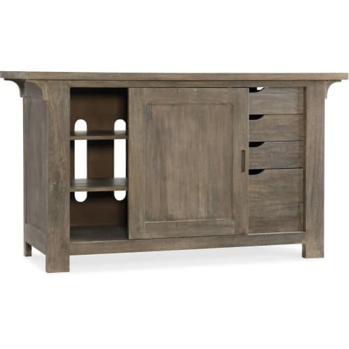 Hooker Furniture Urban Farmhouse Storage Credenza in Gray by Hooker Furniture