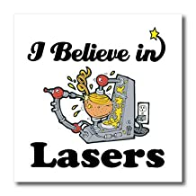 ht_105252_1 Dooni Designs I Believe In Designs - I Believe In Lasers - Iron on Heat Transfers - 8x8 Iron on Heat Transfer for White Material