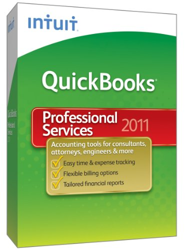 QuickBooks Premier Professional Services 2011 - [Old Version]