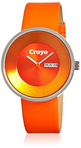 crayo-womens-cr0205-button-orange-leather-watch