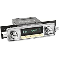 RetroSound HI-304-06-76 Hermosa Direct-Fit Radio for Classic Vehicle (Face & Ivory Buttons and Faceplate)